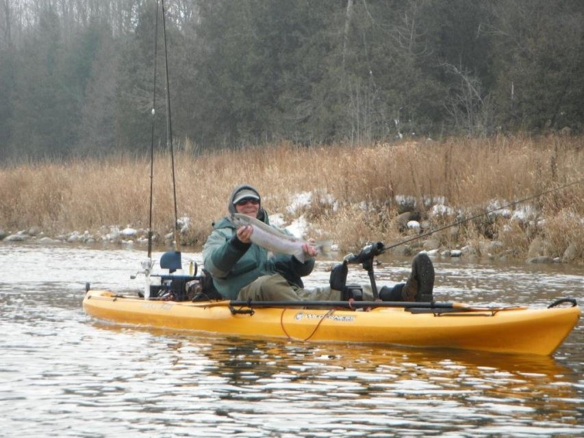 Half day guided kayak fishing trip for Half day fishing trips